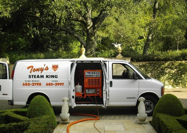 Tony's Steam King Carpet Cleaning Santa Barbara Goleta Carpinteria CA